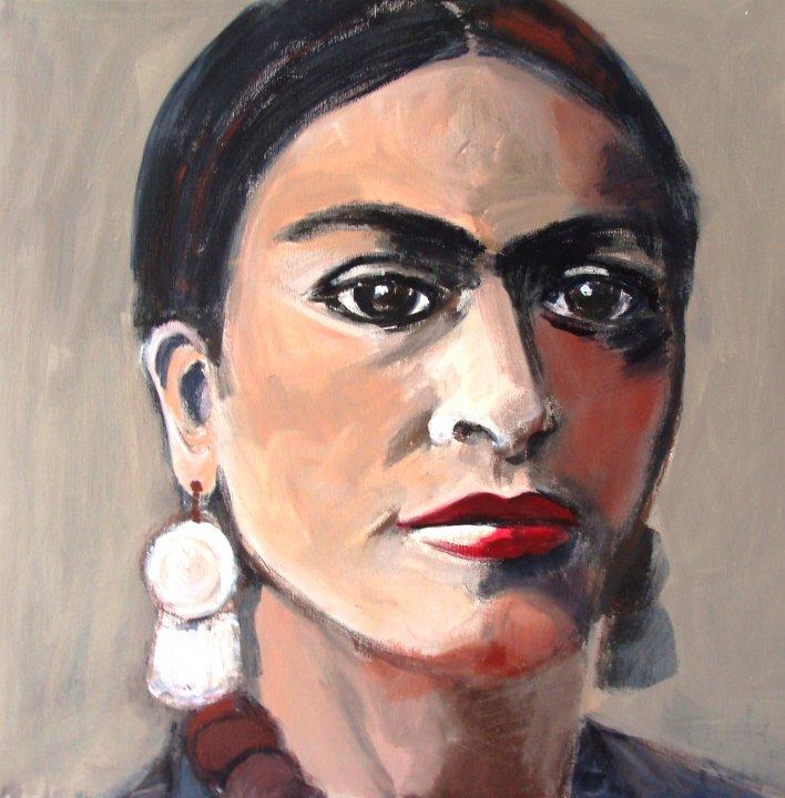 Frida Kahlo 2010 Anjo Van Oosterhout Anjo Van Oosterhout